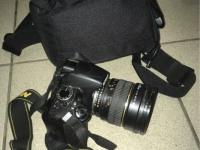 Ф/т Nikon D3100 Kit, объектив Samyang 50mm,б/у, п/ц, з/у, в сумке