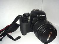 Ф/т Canon EOS 1000D kit, б/у, п/ц, з/у, сумка, коробка