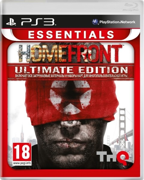 Диск PS3 Homefront: Ultimate Edition
