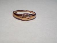 Кольцо с камнями Золото 585 (14K) вес 1.39 г