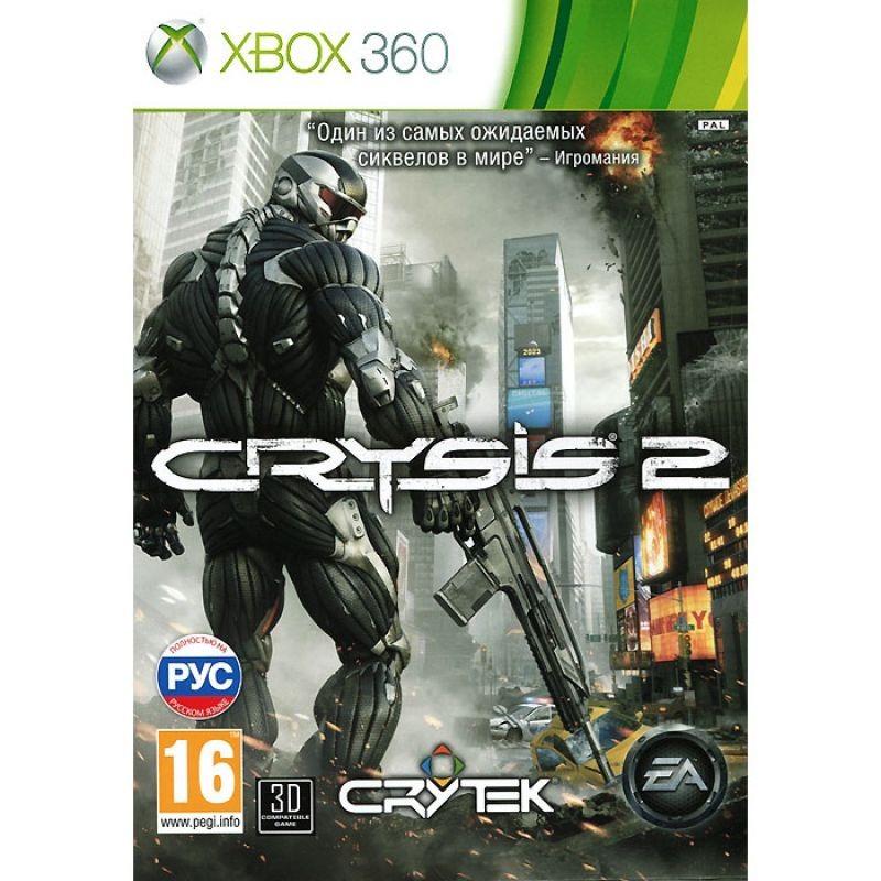Диск Xbox 360 CRYSIS 2