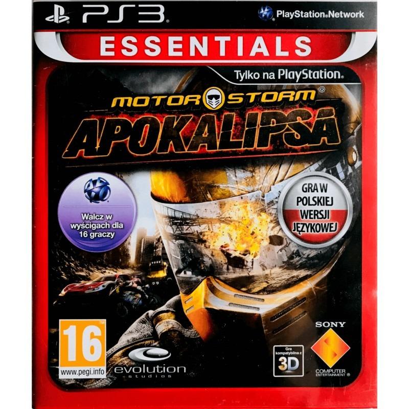 Игровой диск PS3-MotorStorm: Апокалипсис