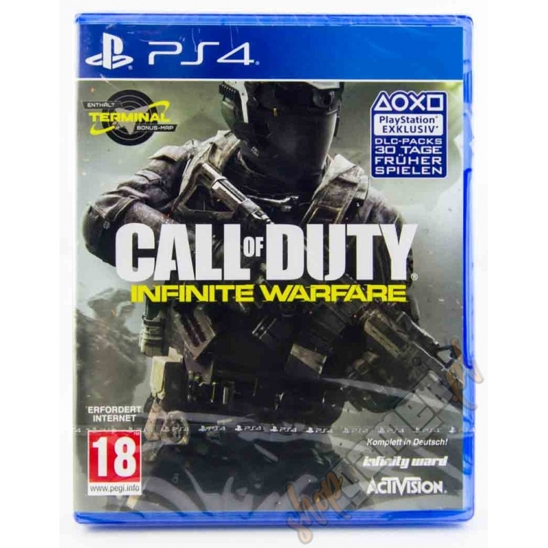 Диск на PS4 Call of Duty: Infinite Warfare