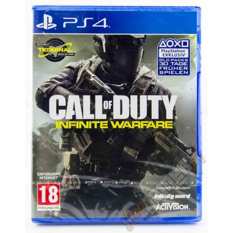 Диск на PS4 Call of Duty: Infinite Warfare