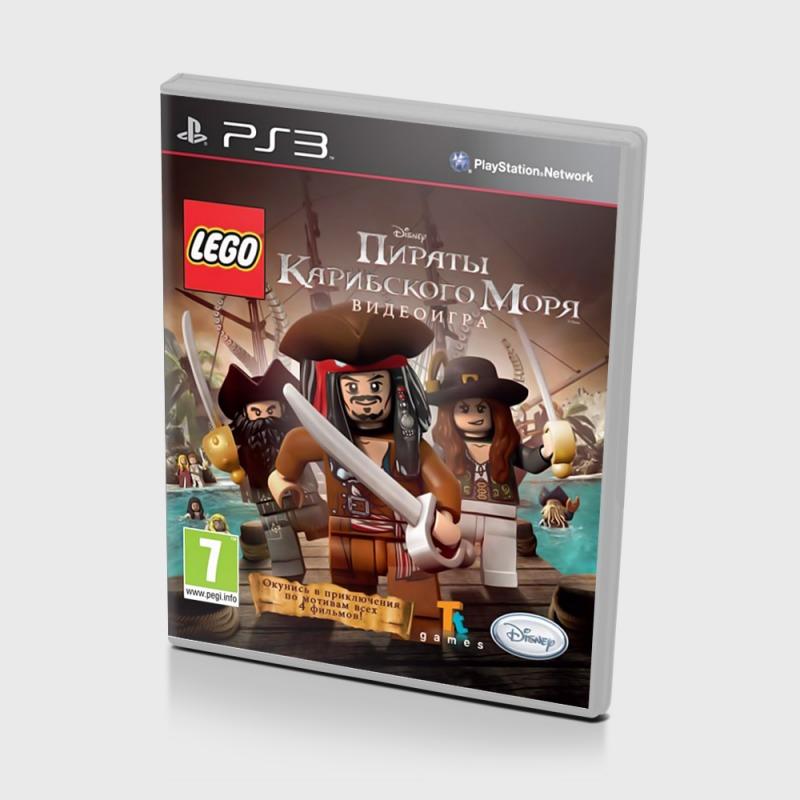 Диск PS-3 Пираты Карибского моря Lego