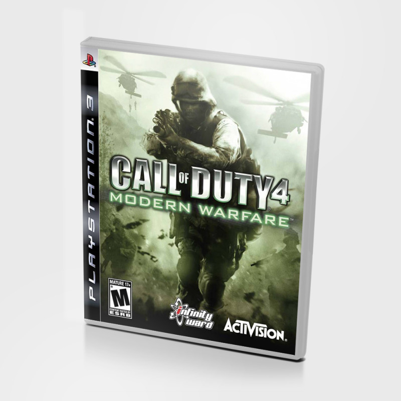 Диск для PS3 Call OF DUTY 4