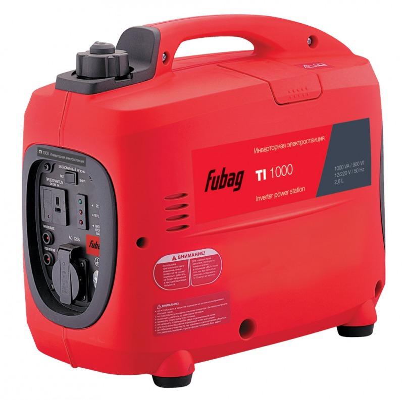 Бензиновый генератор Fubag TI 1000 (900 Вт)