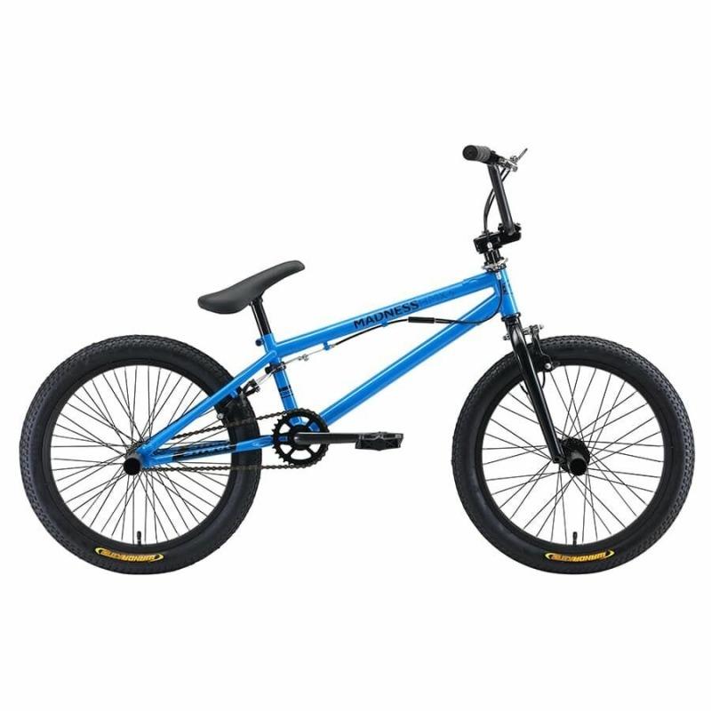Велосипед BMX голубой