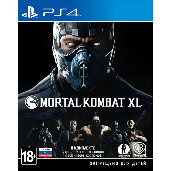 Диск PS4 Mortal Kombat XL