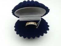 Кольцо с камнями  Золото 585 (14K) вес 3.71 г