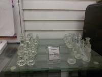 Стеклянные шахматы glass ches