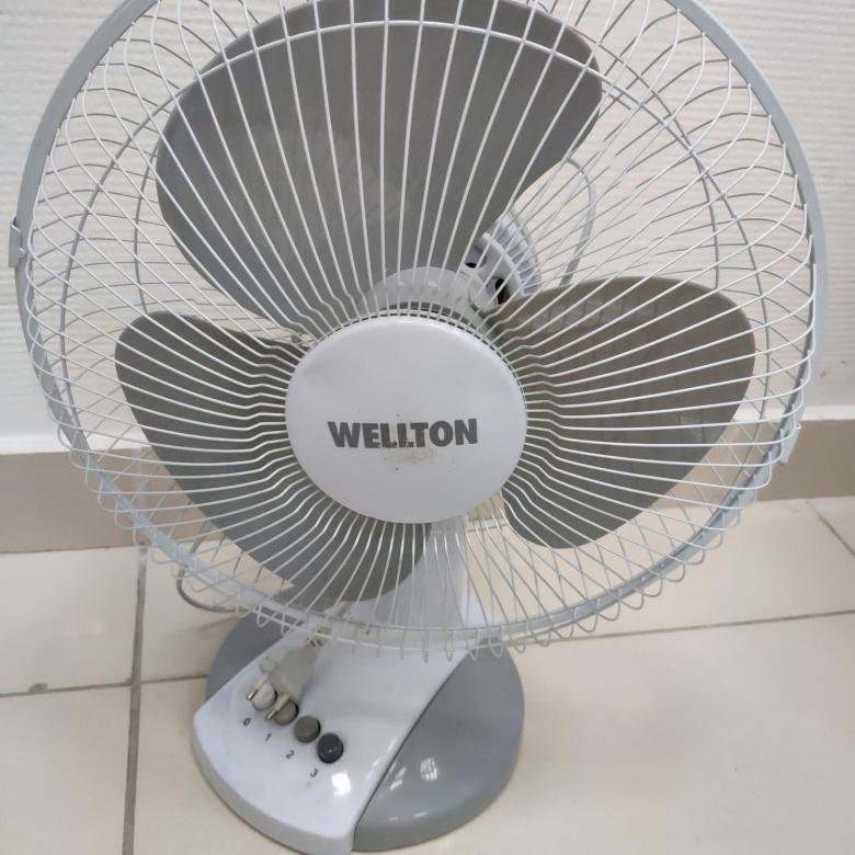 Вентилятор настольный Wellton