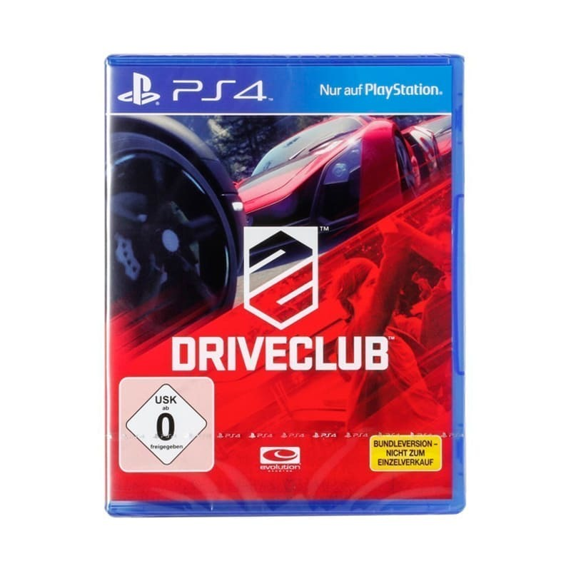 Диск для Sony PS4 Driveclub
