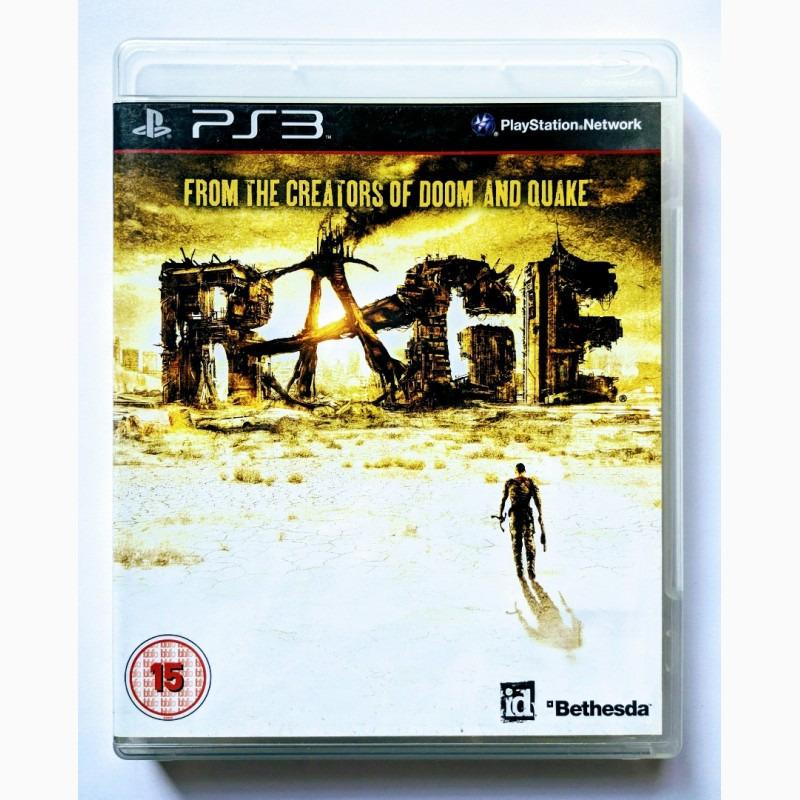 Диск для PS3 RAGE