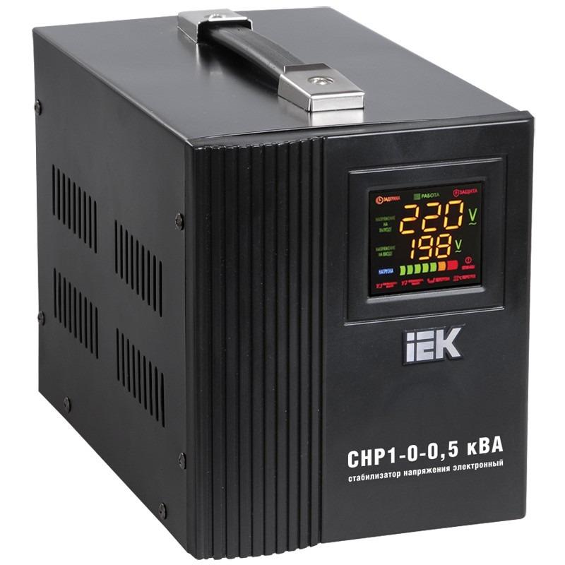 Стабилизатор напряжения IEK Home СНР1-0-0.5 кВА однофазный