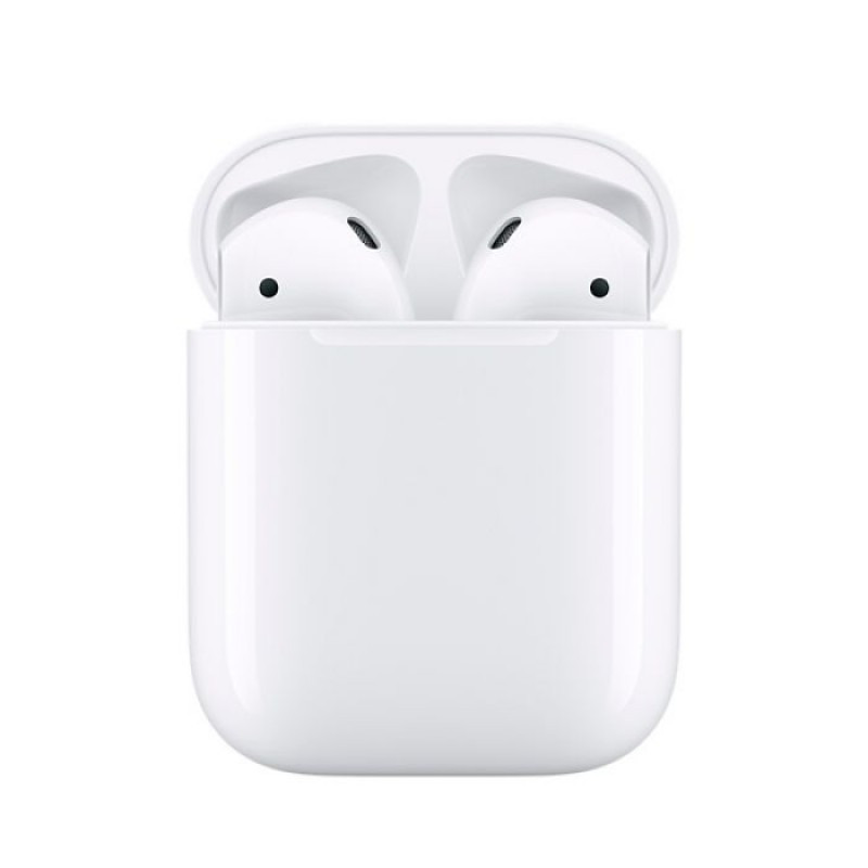 Беспроводные наушники Apple AirPods 2 с зарядным футляром MV7N2