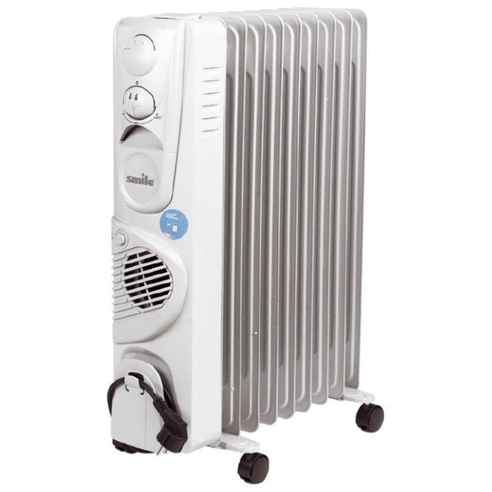 Масляный радиатор Smile RO 1509