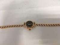 Часы с золотым браслетом  Золото 585 (14K) вес 16.32 г