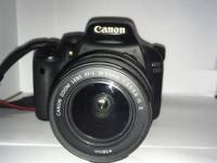 Фотоаппарат Canon EOS 550D 18-55mm, б/у, п/ц, ком-т, в пакете