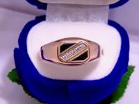Кольцо с камнем Золото 585 (14K) вес 6.18 г