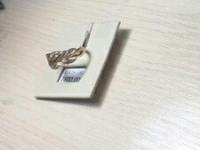Кольцо с камнями Золото 585 (14K) вес 3.82 г