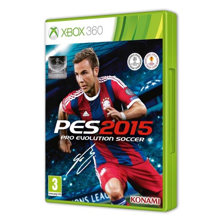 Диск на Xbox 360 PES 2015