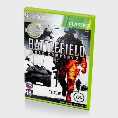 Диск на Xbox 360 Battlefield: BAD Company 2