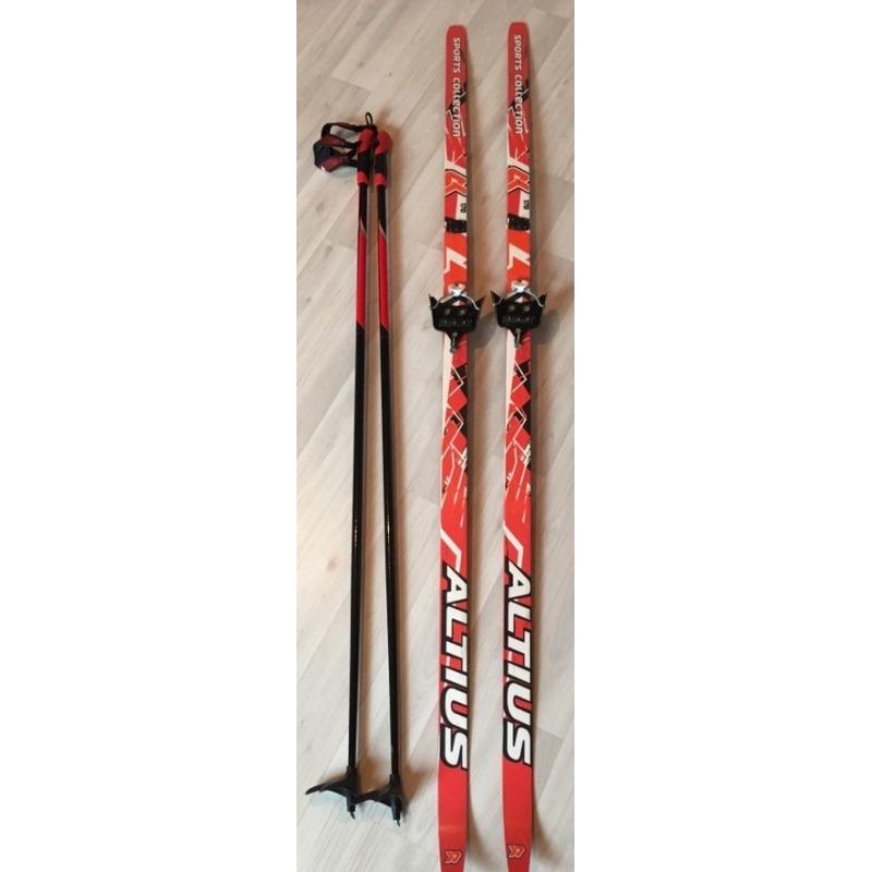 Лыжи Altius 170 + палки