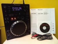 Диджейская установка Ploneer CDJ-350 в коробке:установочный диск,рук-во,сетевой кабель(новая)