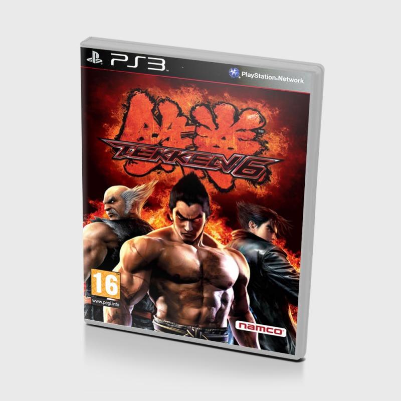 Диск на PS3 Tekken 6