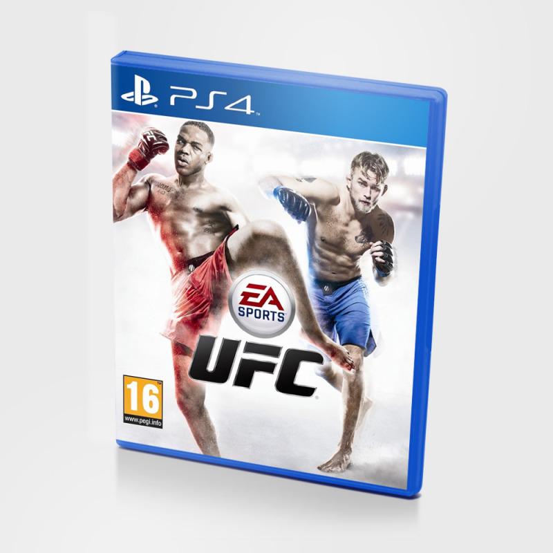 Диск для PS4 UFC