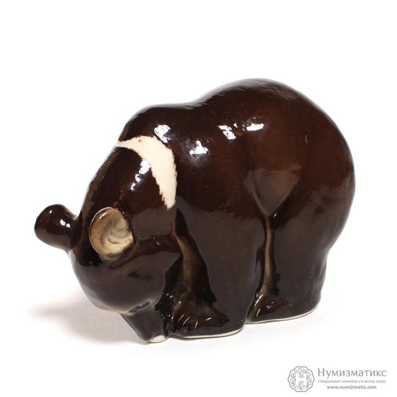 Фарфоровая статуэтка «Гималайский медведь»