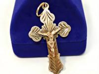 Крест  Золото 585 (14K) вес 2.49 г