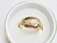 Кольцо с бриллиантами Золото 585 (14K) вес 6.21 г