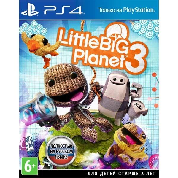 Диск PS4 LittleBigPlanet 3