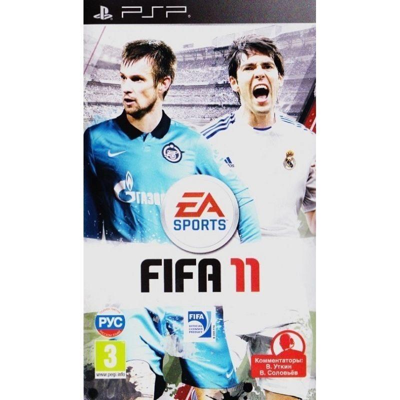 Диск на PS3 FIFA 11