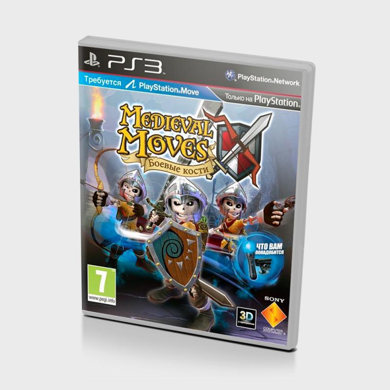 Диск для PS3 Medieval Moves