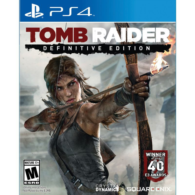 Диск для PS4 Tomb Raider