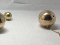 Серьги  Золото 585 (14K) вес 6.15 г