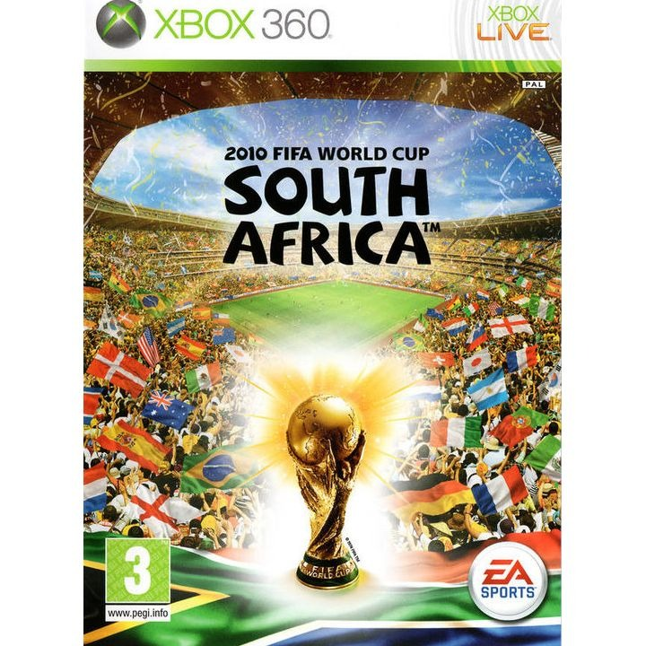 Диск на Xbox 360 2010 FiFa World Cup South Africa