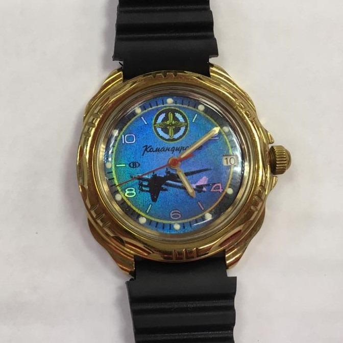 Часы наручные командирские
