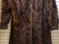 Шуба коричневая FOX Hellas LTD(Норка)