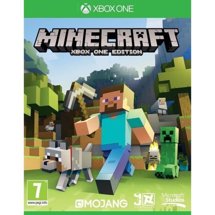 Диск на XBOX One Minecraft