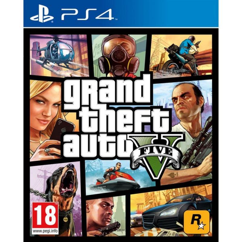 Игровой диск PS4 GTA5