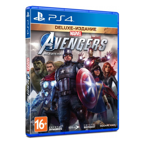 Диск для PS4 Marvel's Avengers
