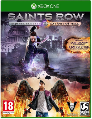 Диск Xbox One Saints Row IV: Re-Elected + Gat out of Hell