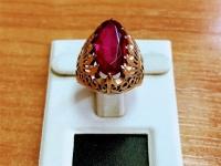 Кольцо Золото 585 (14K) вес 5.73 г