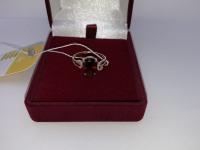 Кольцо с камнями Золото 585 (14K) вес 2.76 г