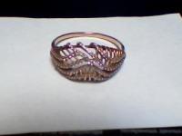 Кольцо с камнями Золото 585(Друг) вес 2.59 г