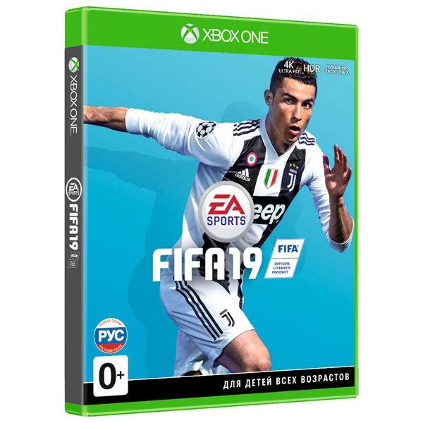 Диск XBOX One FIFA 19